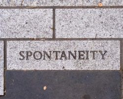 Spontaneity Can Spark A Big Change in Your Life